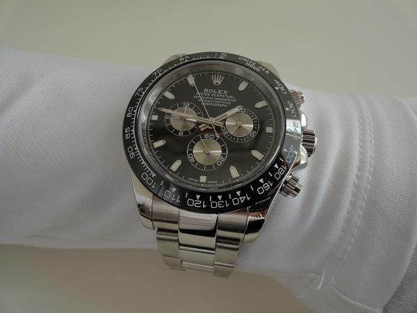 RelojesDeReplicas-Bisel-De-Cerámica-Negro-Rolex-Daytona-Relojes-De-Imitacion