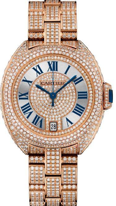 Falso Clé De Cartier HPI01040 35MM Relojes Suizos