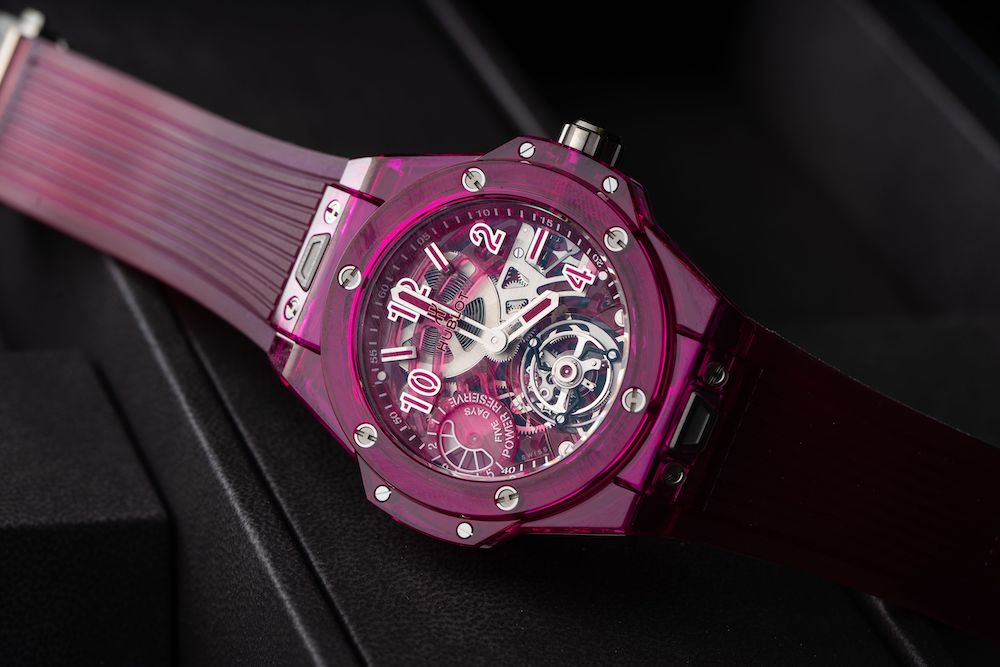 Hublot Big Bang Tourbillon Power Reserve 5 Days Replicas Relojes